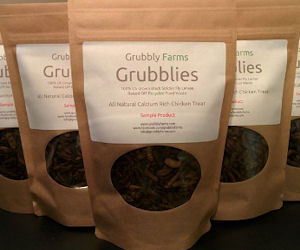 FREE Grubblies Chicken Feed...