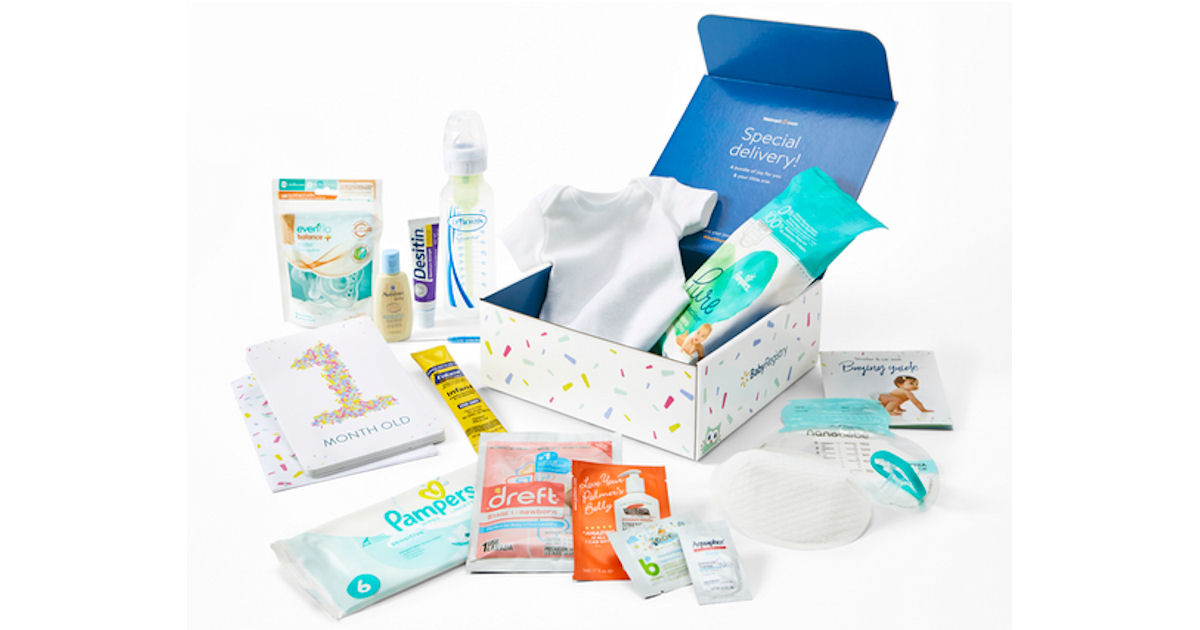FREE Walmart Welcome Baby Box.