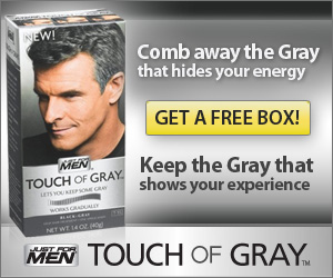 Get A Free Box Of Just For Men Touch Gray Try It Now