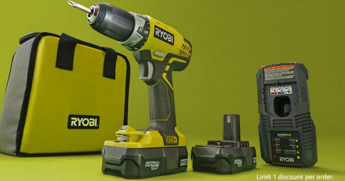 Last Chance! Buy One Ryobi Power Drill, Get One Ryobi Tool ...