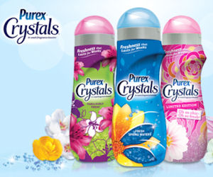 FREE Purex Crystals Fragrance.