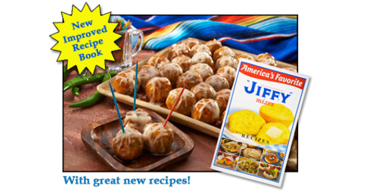 FREE Jiffy Mix Recipe Book...
