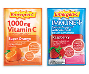 FREE Sample Pack of Emergen-C.