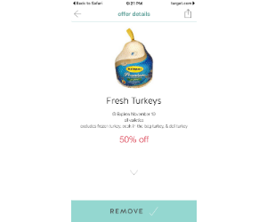 It is a picture of Dramatic Butterball Coupons Turkey Printable