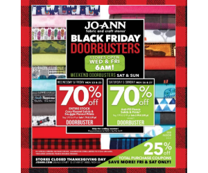 Joann daily deals