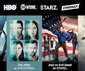 FREE Preview of HBO, Starz, Sh...