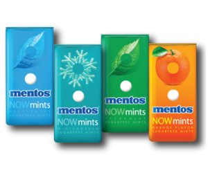 Mentos NowMints at CVS
