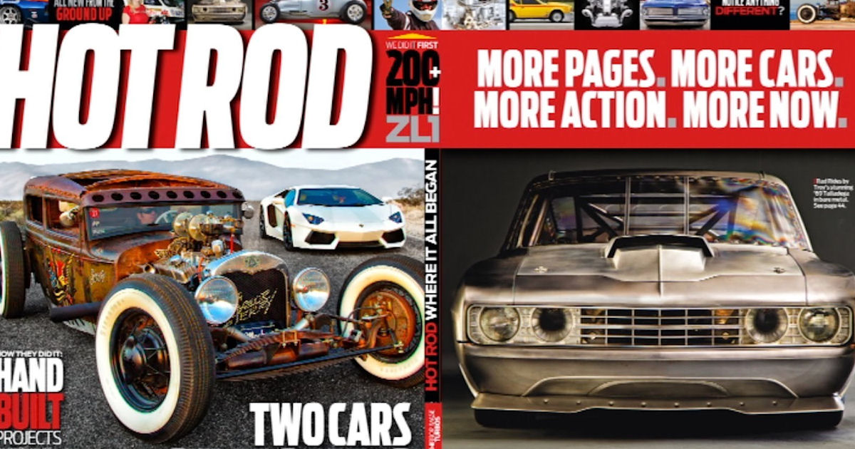 FREE Subscription to Hot Rod M...