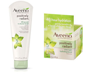 FREE Aveeno Positively Radiant...
