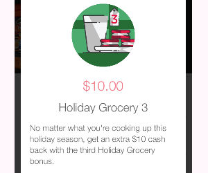 Ibotta Holiday Bonus: $10 for.
