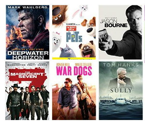 Rent Any Movie from Amazon for...