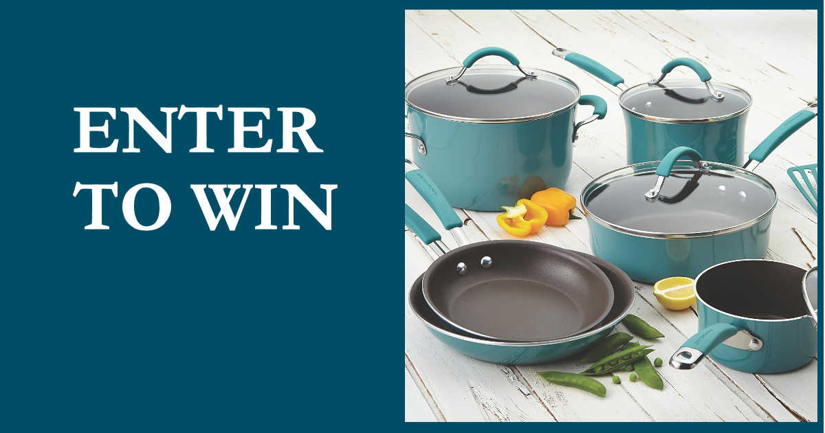 rachel ray giveaway win a rachael ray cookware set free sweepstakes 8156