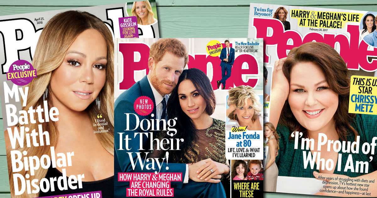 FREE Subscription to People Magazine