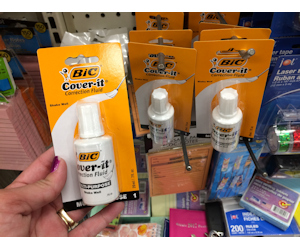 BIC Cover-It at Dollar General