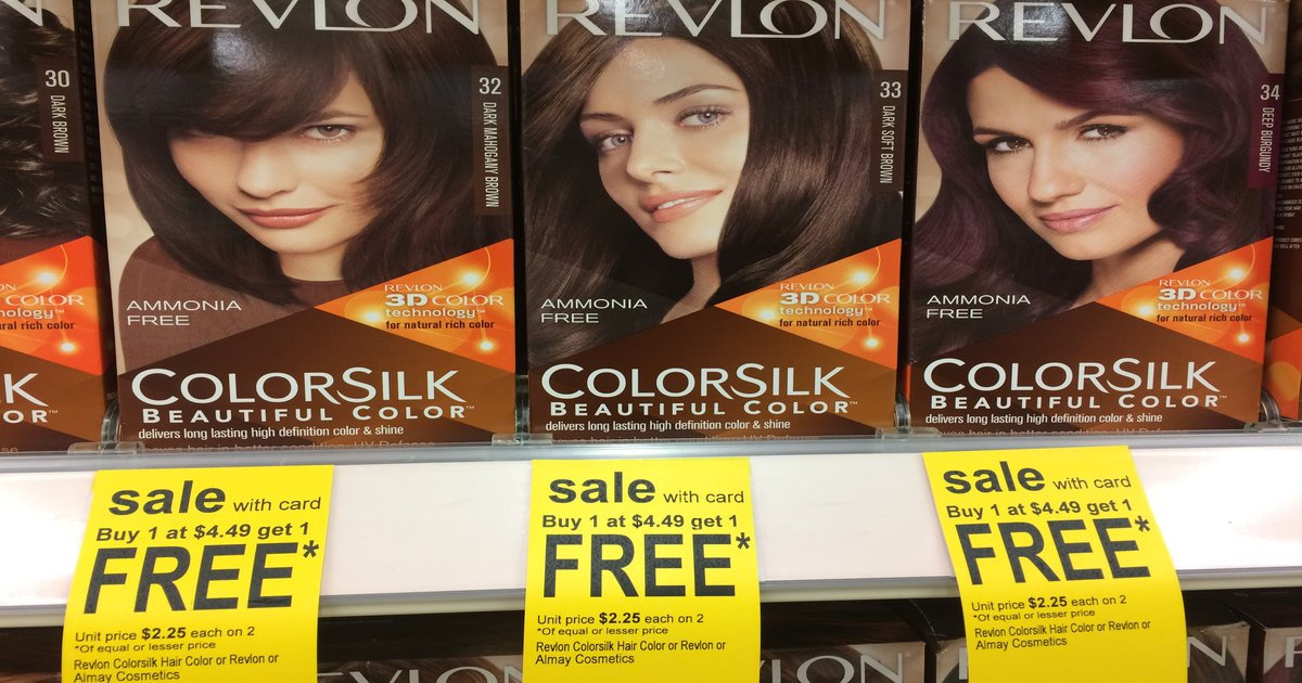photo about Printable Revlon Coupons known as Revlon Colorsilk at Walgreens for $1.75 with Coupon