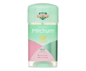picture regarding Mitchum Printable Coupon called Mitchum Antiperspirant/Deodorant at CVS for $1.25 with