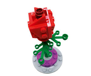 FREE LEGO Rose Mini Build Even...