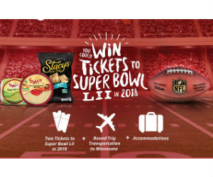 New super bowl sweepstakes