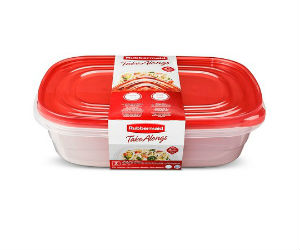 Rubbermaid TakeAlongs Containers at Dollar Tree