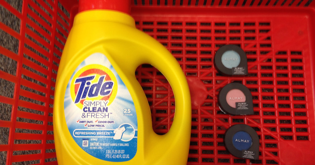 photo about Tide Simply Clean Printable Coupons called Absolutely free Almay Softies and Tide at CVS with Coupon codes - Printable