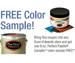 FREE 8oz. Dunn-Edwards Paint S...