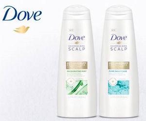 FREE Dove DermaCare Scalp Pure...