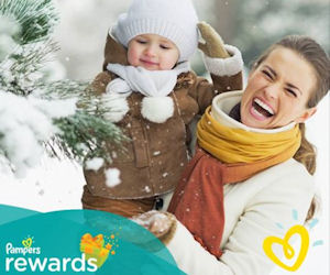 15 FREE Pampers Rewards Points...
