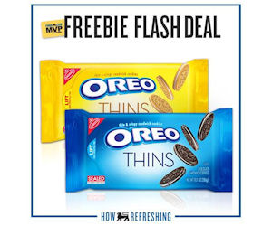 FREE Oreo Thins for Food Lion.