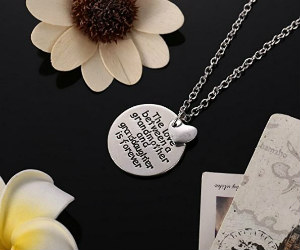 Grandma Daughter Necklace on Amazon