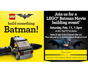 FREE LEGO Batman Movie Event a...