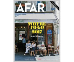 FREE Subscription to AFAR Maga...