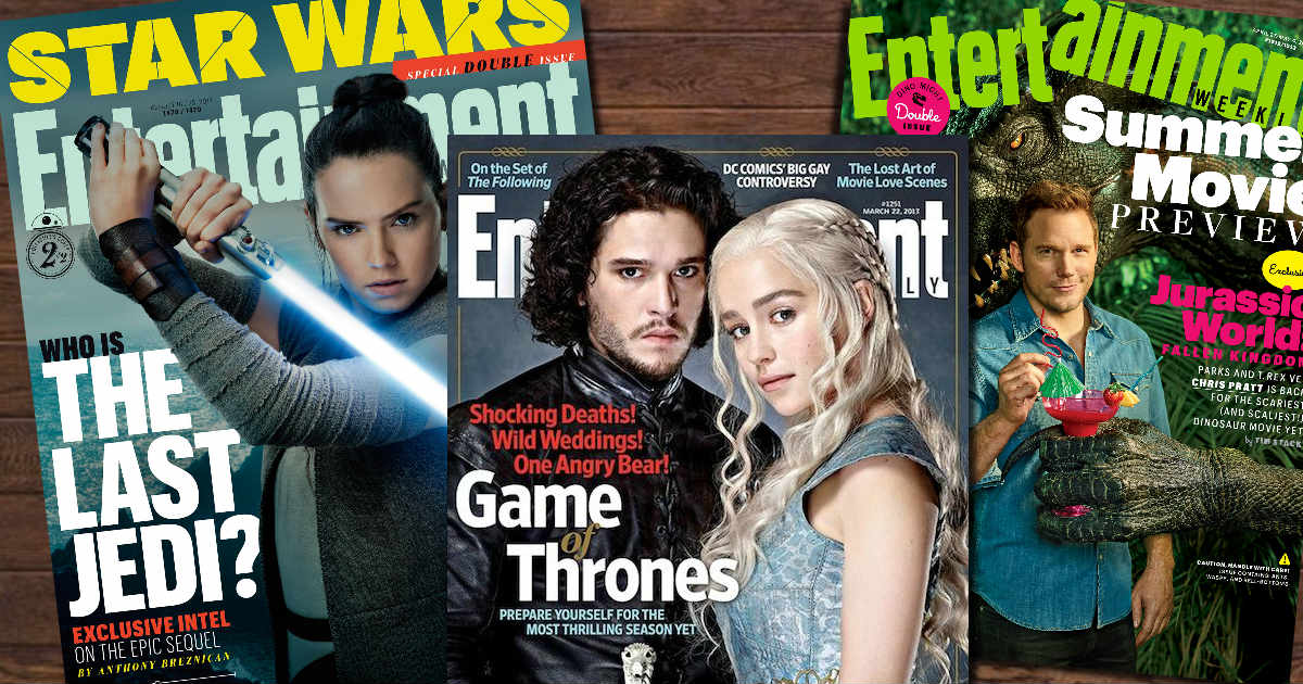 free entertainment weekly magazine