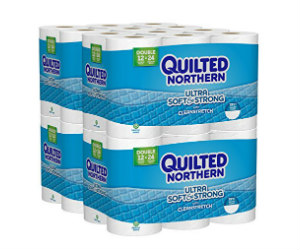 Quilted Northern Toilet Paper on Amazon