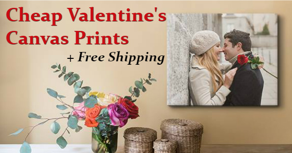 Free Shipping on Valentine's Day Canvas from Easy Canvas Prints ...