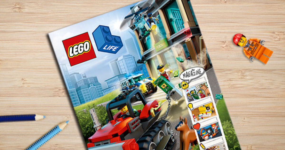 FREE Subscription to LEGO Life...