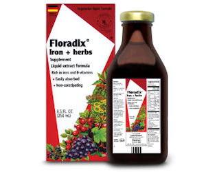 FREE Floradix Liquid Iron &...