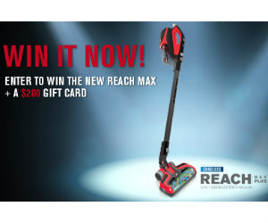 Win a Dirt Devil Power Max Vacuum and $200 Visa Gift Card - Free