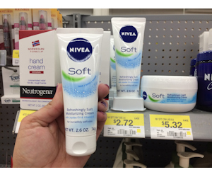 Nivea Soft Lotion for $0.72 at Walmart