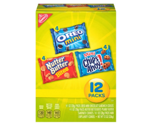 Nabisco Variety Packs at Publix