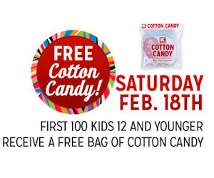 FREE Cotton Candy...