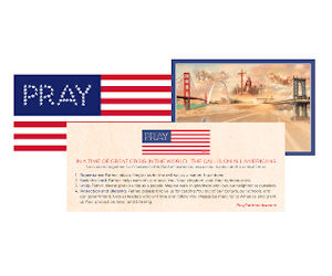 FREE 'Pray' American Flag Bump...