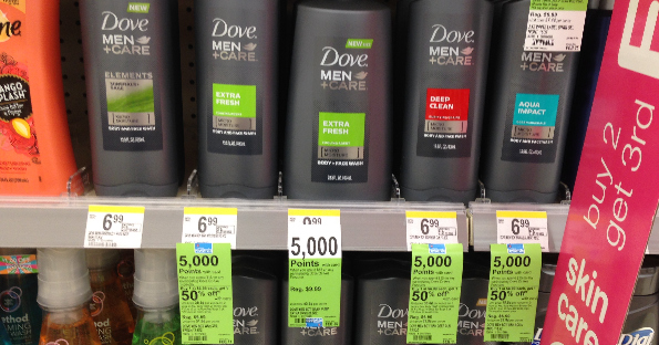 Dove Men + Care at Walgreens for $0.58 with Coupons