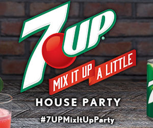 FREE 7UP Mix It Up House Party...