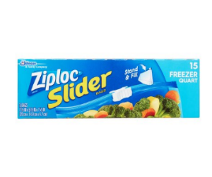 Ziploc Slider Bags at Walgreens