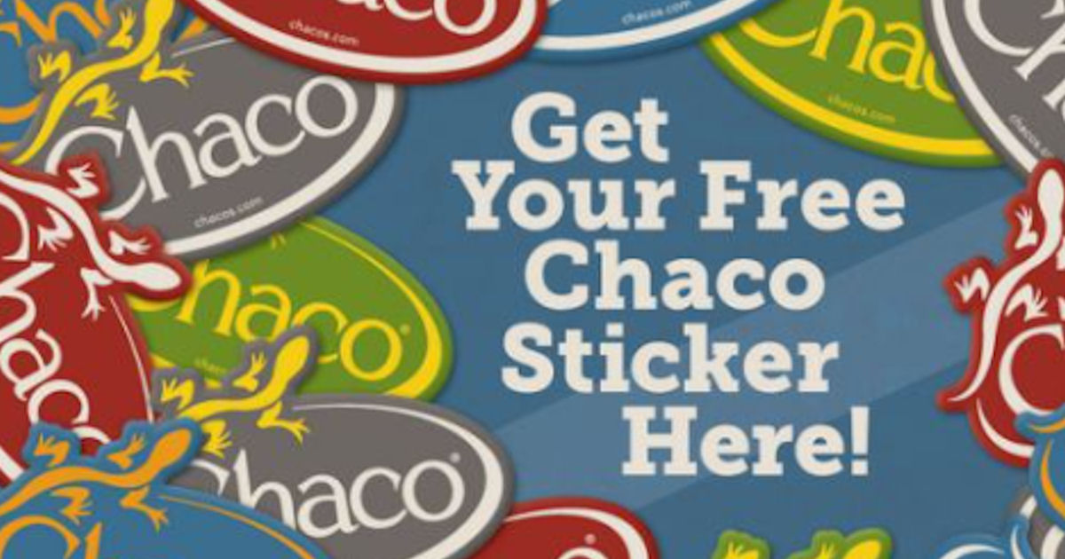 FREE Chaco Stickers...