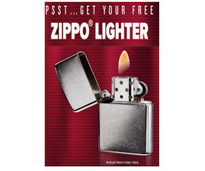 FREE Zippo from L&M