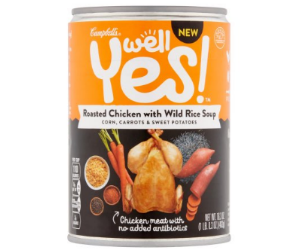 Campbell's Well Yes! Soup at Walmart