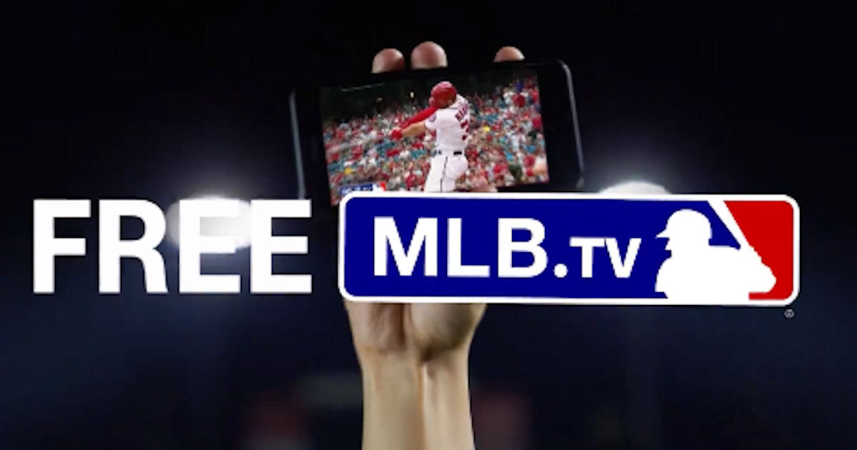 FREE MLB.TV Subscription for C...