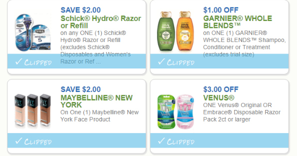 High-Value Personal Care Coupons