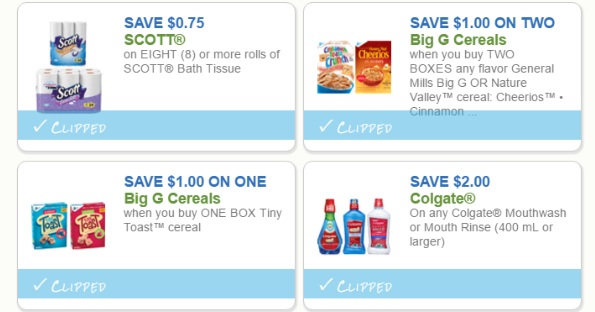 Print Your Grocery Coupons Today